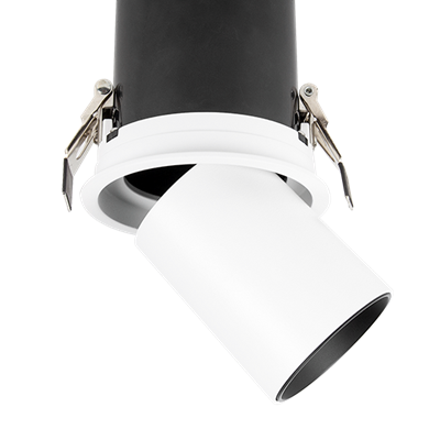 Downlight orientable-rétractable
