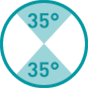 35°-35°