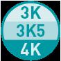 3K-3K5-4K