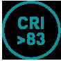 CRI >83