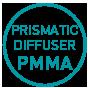 Prismatic PMMA
